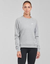 Oblečenie Ženy Mikiny Nike NIKE SPORTSWEAR ESSENTIAL Šedá / Biela