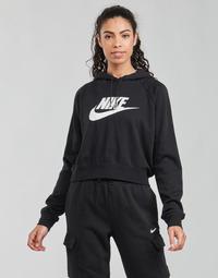 Oblečenie Ženy Mikiny Nike NIKE SPORTSWEAR ESSENTIAL Čierna / Biela