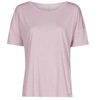 Oblečenie Ženy Tričká s krátkym rukávom Nike NIKE YOGA Fialová