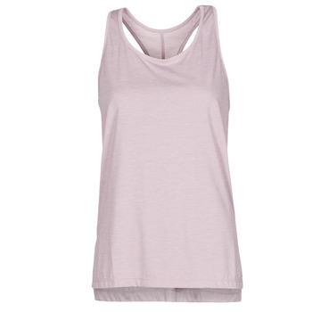 Oblečenie Ženy Tielka a tričká bez rukávov Nike NIKE YOGA Fialová