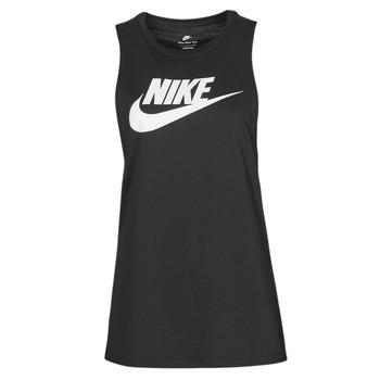 Oblečenie Ženy Tielka a tričká bez rukávov Nike NIKE SPORTSWEAR Čierna / Biela