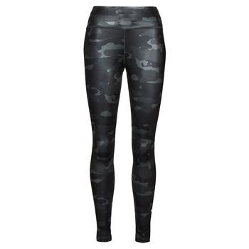 Oblečenie Ženy Legíny Nike W NK ONE DF CAMO MR TGT Šedá / Biela