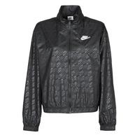 Oblečenie Ženy Vetrovky a bundy Windstopper Nike W NSW WVN GX JKT FTRA Čierna / Biela