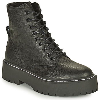 Topánky Ženy Polokozačky Steve Madden SKYLAR Čierna