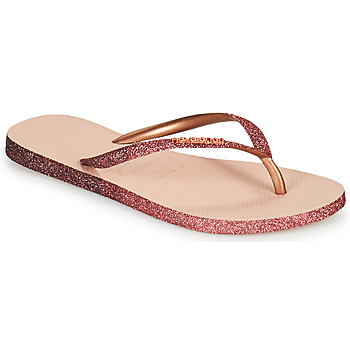 Topánky Ženy Žabky Havaianas SLIM SPARKLE II Ružová