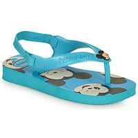 Topánky Chlapci Žabky Havaianas BABY DISNEY CLASSICS II Modrá