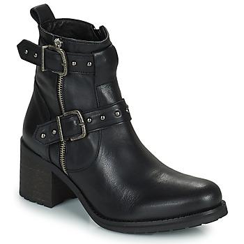 Topánky Ženy Čižmy do mesta Regard UGLAS Čierna