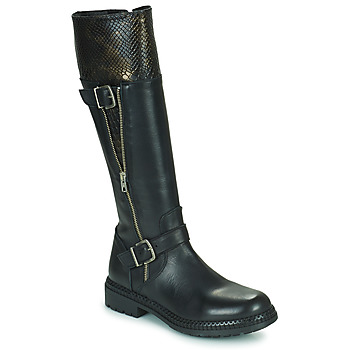 Topánky Ženy Čižmy do mesta Regard CACHY Čierna