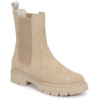 Topánky Ženy Polokozačky Bullboxer 610507E6CAALMD Béžová