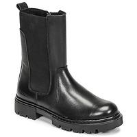 Topánky Dievčatá Polokozačky Bullboxer AJS504BLCK Čierna