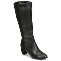 Topánky Ženy Čižmy do mesta Spot on F50366 Čierna