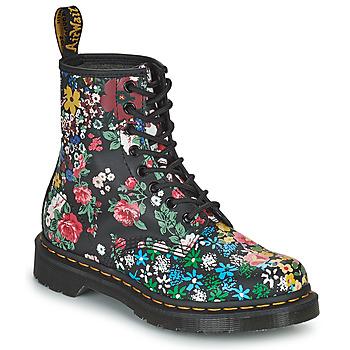 Topánky Ženy Polokozačky Dr Martens 1460 PASCAL Čierna / Viacfarebná