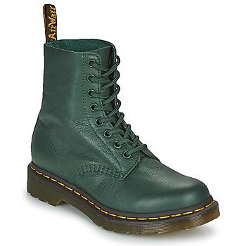 Topánky Ženy Polokozačky Dr Martens 1460 PASCAL Zelená