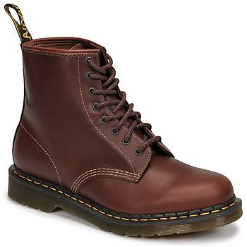 Topánky Muži Polokozačky Dr Martens 1460 Hnedá