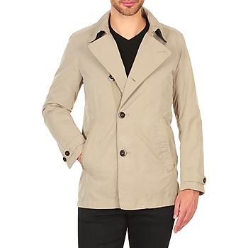 Oblečenie Muži Kabátiky Trenchcoat Marc O'Polo ACHIL Béžová