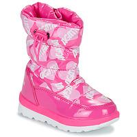 Topánky Dievčatá Snehule  Agatha Ruiz de la Prada APRESKI Strieborná