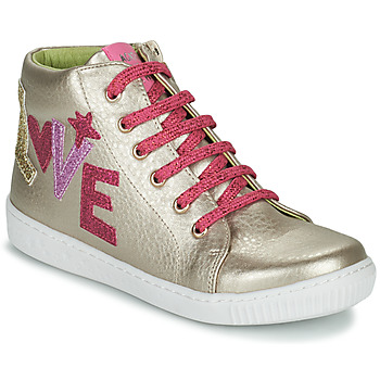 Topánky Dievčatá Členkové tenisky Agatha Ruiz de la Prada FLOW Béžová / Ružová