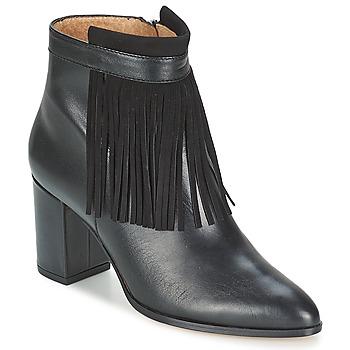 Topánky Ženy Čižmičky Fericelli JOVELIO Čierna