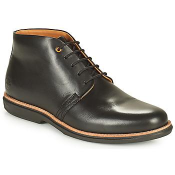 Topánky Muži Polokozačky Timberland CITY GROOVE CHUKKA Čierna