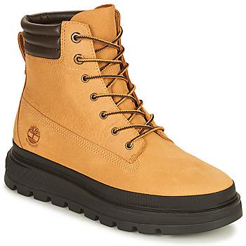 Topánky Ženy Polokozačky Timberland RAY CITY 6 IN BOOT WP Žltá obilná