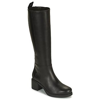 Topánky Ženy Čižmy do mesta Timberland DALSTON VIBE TALL BOOT Čierna