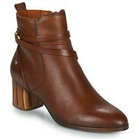 Topánky Ženy Čižmičky Pikolinos CALAFAT Hnedá