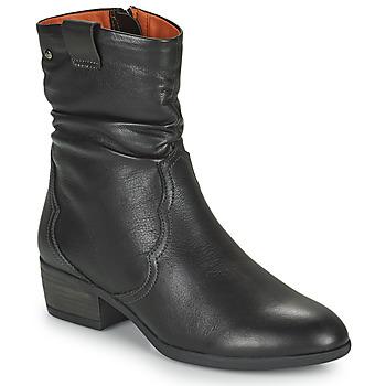 Topánky Ženy Čižmičky Pikolinos DAROCA Hnedá