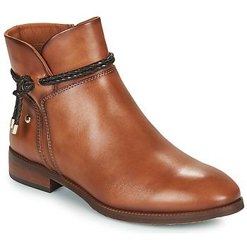 Topánky Ženy Polokozačky Pikolinos ROYAL Hnedá