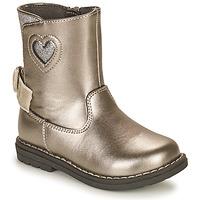 Topánky Dievčatá Čižmy do mesta Chicco CALLINA Strieborná