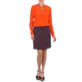 Oblečenie Ženy Sukňa Marc O'Polo AURELIA Námornícka modrá / červená