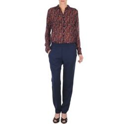 Oblečenie Ženy Padavé nohavice Marc O'Polo ALBA Modrá / Dark / červená