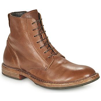 Topánky Muži Polokozačky Moma MINSK Hnedá