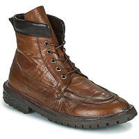 Topánky Muži Polokozačky Moma COMBAT Hnedá