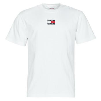 Oblečenie Muži Tričká s krátkym rukávom Tommy Jeans TJM TOMMY BADGE TEE Biela
