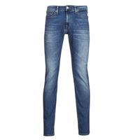 Oblečenie Muži Rifle Slim  Tommy Jeans SCANTON SLIM AE136 MBS Modrá / Medium