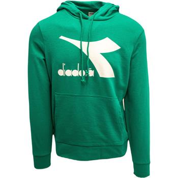 Oblečenie Muži Mikiny Diadora Big Logo Zelená