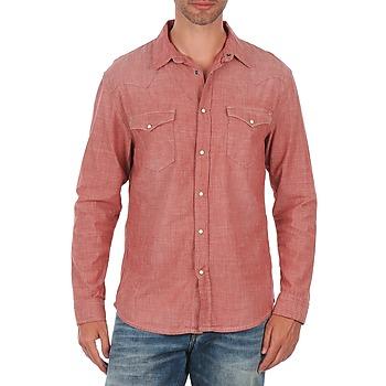 Oblečenie Muži Košele s dlhým rukávom Selected Doha shirt ls r J červená