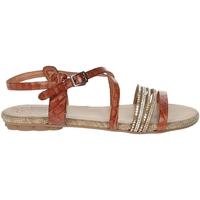Topánky Ženy Sandále Porronet FI2616 Brown leather