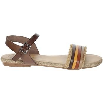 Topánky Ženy Sandále Porronet FI2605 Brown leather