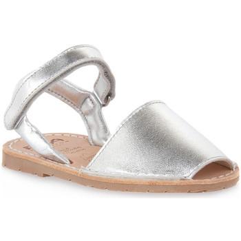 Topánky Dievčatá Sandále Rio Menorca RIA MENORCA METALIZADO PLATA Grigio