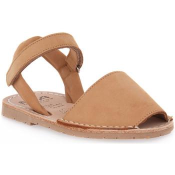 Topánky Dievčatá Sandále Rio Menorca RIA MENORCA CUERO NABOUK Marrone