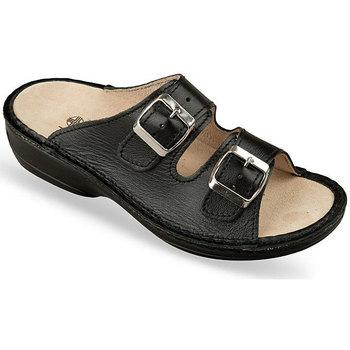 Topánky Ženy Šľapky Mjartan Dámske šľapky  KIM 2 čierna