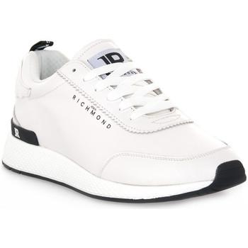 Topánky Muži Nízke tenisky Richmond BIANCO NAPPA Bianco