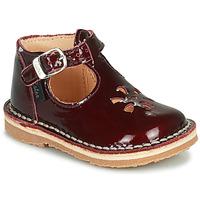 Topánky Dievčatá Sandále Aster BIMBO Bordová