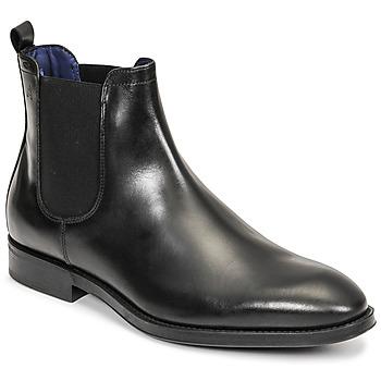 Topánky Muži Polokozačky Azzaro SEVILLE Čierna