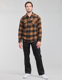 Oblečenie Muži Nohavice päťvreckové Dickies ORIGINAL FIT STRAIGHT LEG WORK PNT Čierna