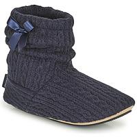 Topánky Ženy Papuče Isotoner 97720 Námornícka modrá