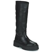 Topánky Ženy Čižmy do mesta Musse & Cloud BRULI Čierna