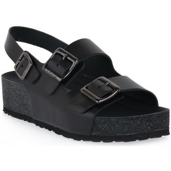 Topánky Ženy Sandále Frau NERO NATURAL Nero