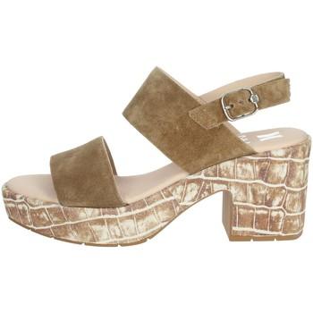 Topánky Ženy Sandále CallagHan 28801 Brown leather